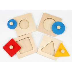 GEOMETRIC PLATE (SET OF FOUR)
