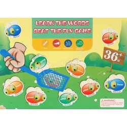 LEARN THE WORDS BEAT THE FLY GAME