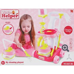 LITTLE HELPER: MY CLEANING PLAYSET