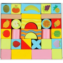 FRUIT BLOCKS 33PCS