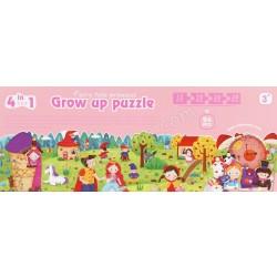 GROW UP PUZZLE (FAIRY TALE PRINCESS)