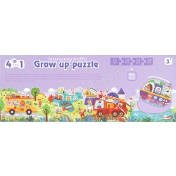 GROW UP PUZZLE (INTERESTING TRAFFIC)