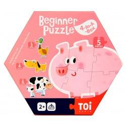 BEGINNER PUZZLE (4-IN-A-BOX) (FARM)