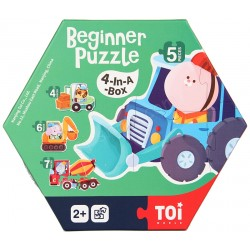 BEGINNER PUZZLE (4-IN-A-BOX) (VEHICLE)