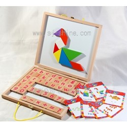 Magnetic Letters, Numbers, Puzzle (MDL-9208)