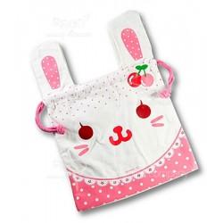 米色 兔仔 (KKA-045-12 大號束口袋)