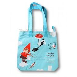 紅帽女孩手拎袋 (粉藍色) (SV10-79)
