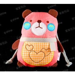 小熊子 布藝束口袋