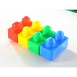 簡易積木 (轆)枱面積木