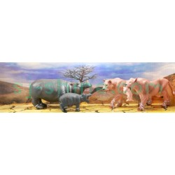 WILDERNESS SERIES:(PUMA, HIPPO)