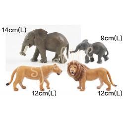 WILDERNESS SERIES:(LION, ELEPHANT)