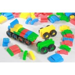 小汽車 枱面積木