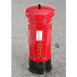 紅色 郵筒錢箱 (英倫風)