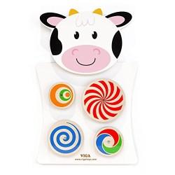 牆面玩具 乳牛