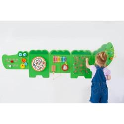 鱷魚牆面玩具 (一套五件)