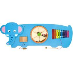 大象牆面玩具