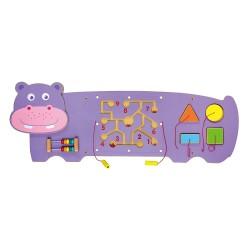 河馬牆面玩具