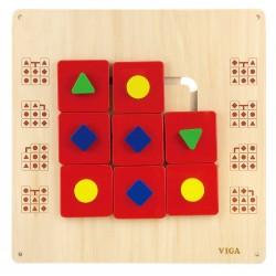 方形牆面玩具 (過關遊戲)