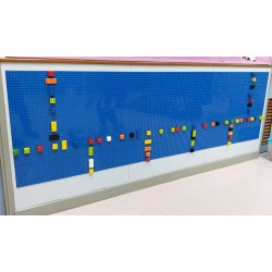 Build an BLOCKS Wall ( Fit for MEGA Size )