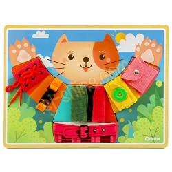 小貓穿衣板 (自理訓練)