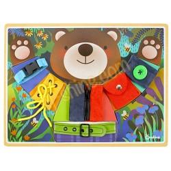 小熊穿衣板 (自理訓練)