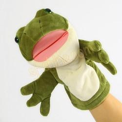青蛙 手偶 (可開合口)