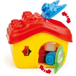 Clementoni Clemmy House Basket with 15 Soft Blocks