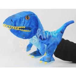 恐龍 手偶 (可開合口) (藍色)