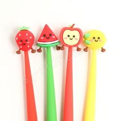 可愛水果 造型筆 (一套4支)