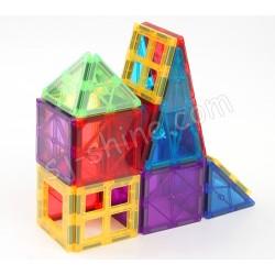 MAGNETIC BUILDING TILES 彩色窗框磁力遊戲