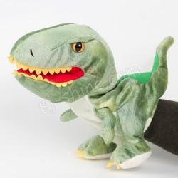 恐龍 手偶 (可開合口) (綠色)