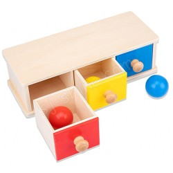 認知玩具 波波抽櫃(三格)
