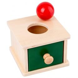認知玩具 單格抽櫃 (波)