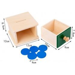 認知玩具 單格抽櫃(片)