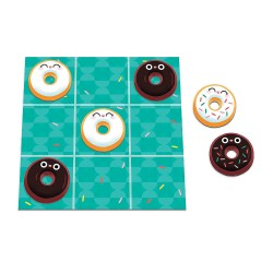 Tic Tac Surprise: Vanilla vs. Chocolate Doughnuts